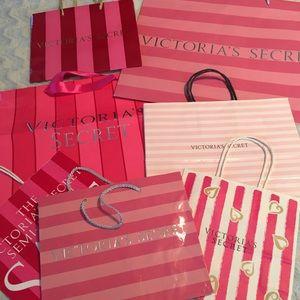 Victoria's Secret Shopping Bags